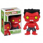 Red Hulk en Pop Vinyl par Funko