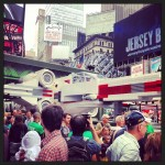 Un Lego X-Wing géant à Time Square pour Yoda Chronicles