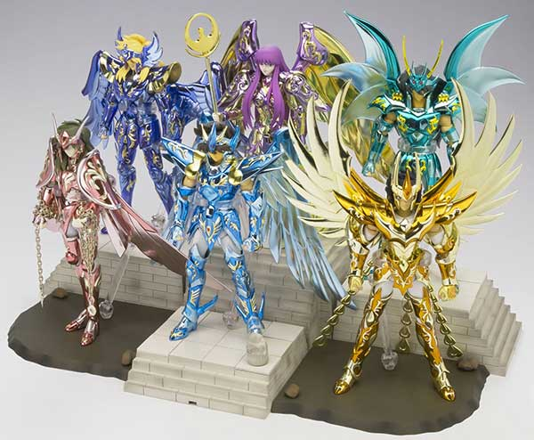Myth Cloth Set DX 10 th Anniversary Edition Bandai
