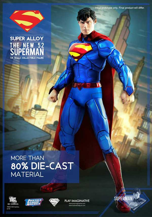 Play Imaginative New 52 Superman