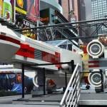 Un Lego X-Wing géant à Time Square pour Yoda Chronicles