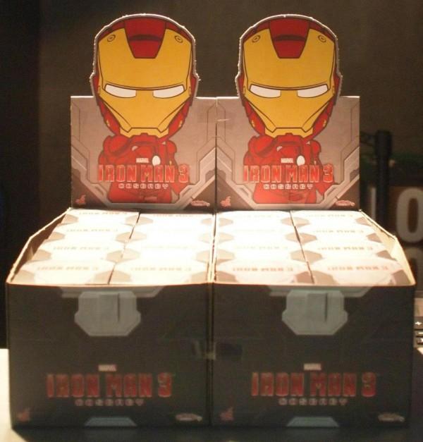 cosbaby hot toys display box iron man3