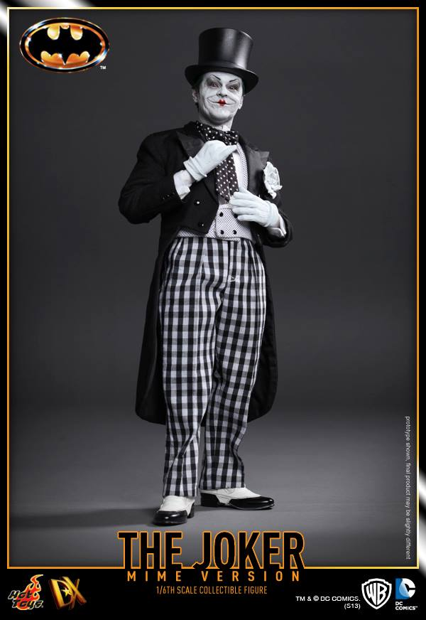 hot toys batman joker mime version 1