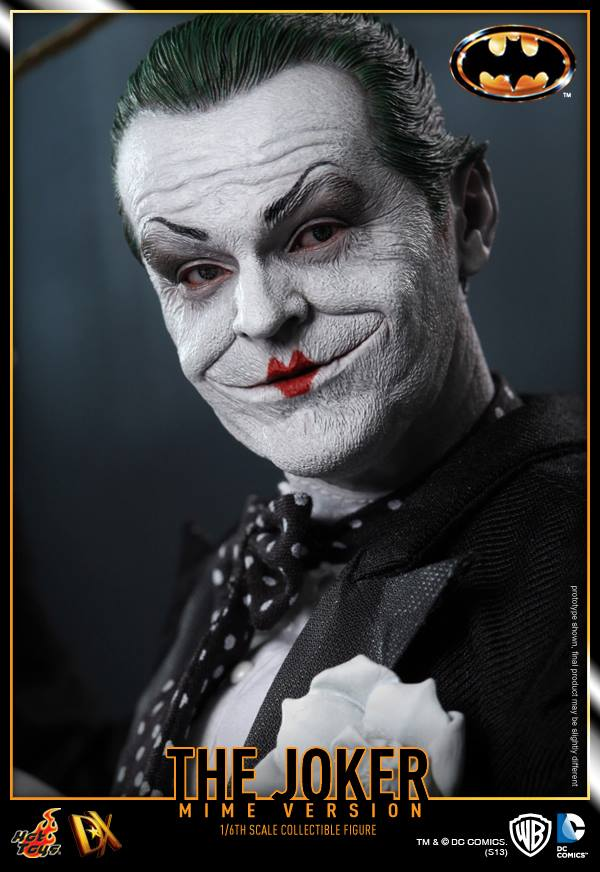 hot toys batman joker mime version 16