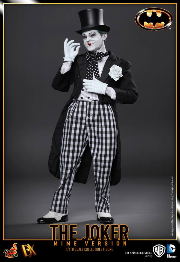 hot toys batman joker mime version 2