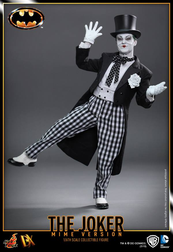 hot toys batman joker mime version 3