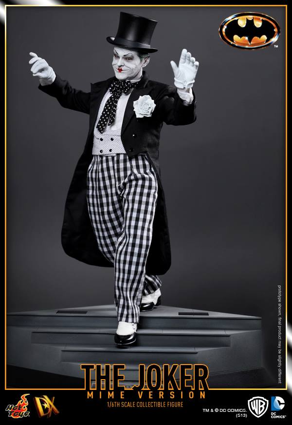 hot toys batman joker mime version 4