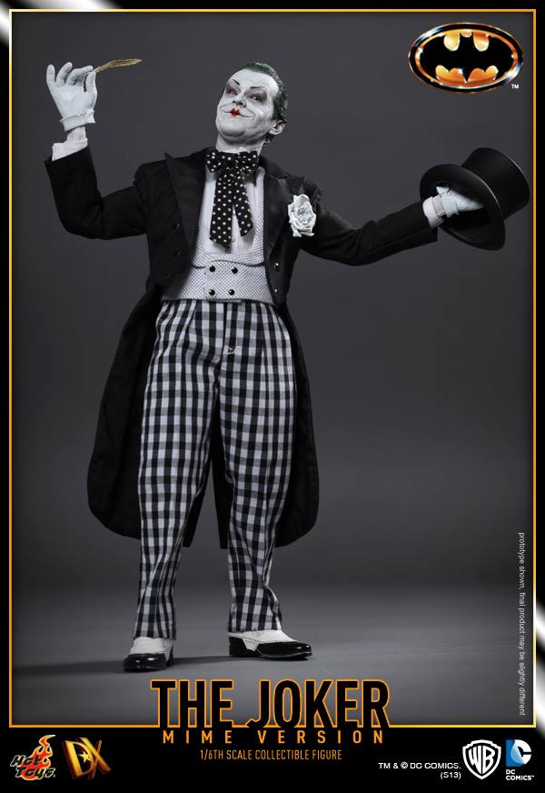 hot toys batman joker mime version 5
