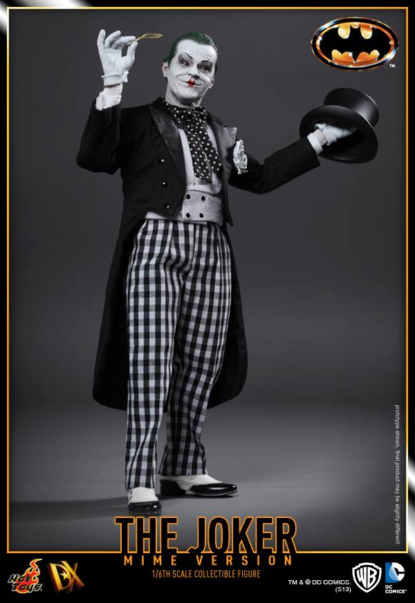 hot toys batman joker mime version 6