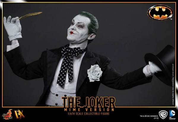 hot toys batman joker mime version 7
