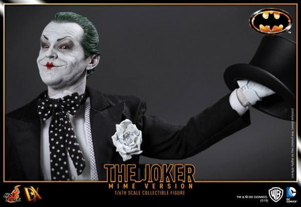 hot toys batman joker mime version 8