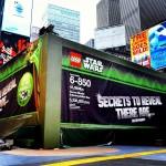 Yoda Chronicles: une énorme boite de LEGO en plein New York