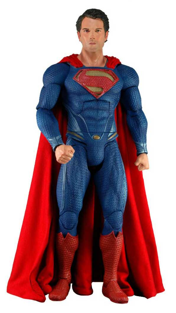 neca superman Man of steel geant size 1/4