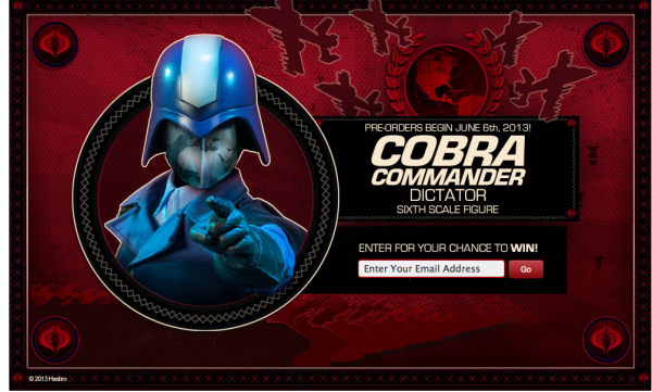 sideshow cobra commander