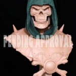 MOTU un buste de Skeletor et une statue du Monstre par Pop Culture Shock