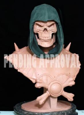 MOTU un bust de Skeletor et une statue du Monstre par Pop Culture Shock