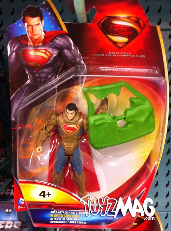 Man Of Steel Mattel