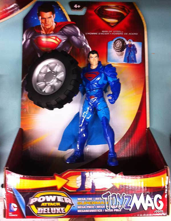 Man Of Steel Mattel  superman