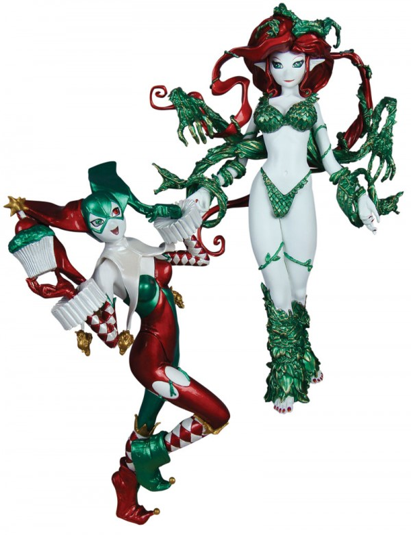 Ame-Comi Heroine Series Harley Quinn & Poison Ivy 2-Pack