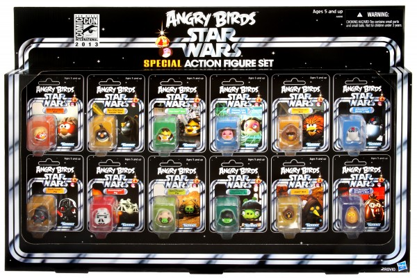 Angry Birds Star Wars SDCC 2013_front view