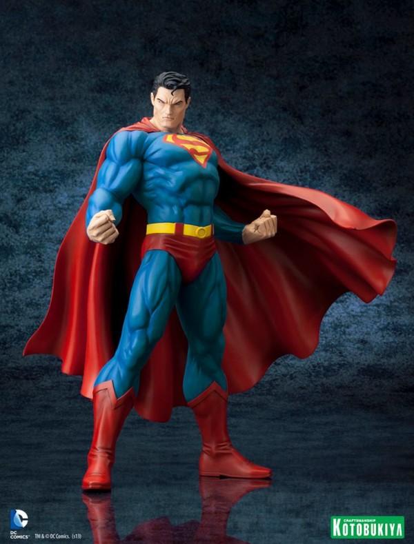 DC Comics Superman For Tomorrow ARTFX Statue kotobukiya (3)