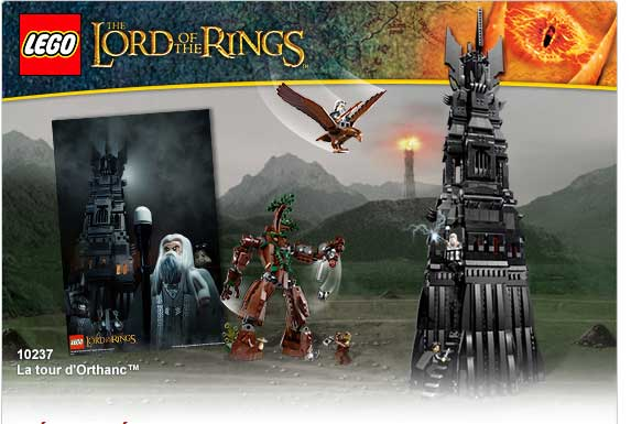 The Lord of the Rings  La tour d'Orthanc