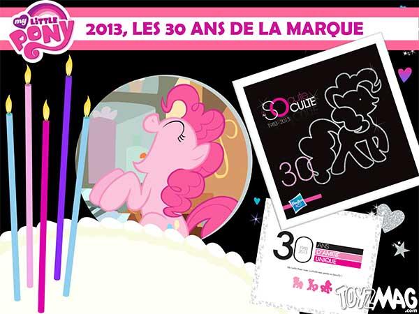 My little Pony 30ans 2013