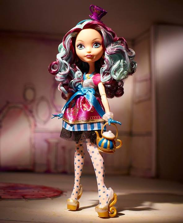 Madeline Hatter ever after high poupee dolls