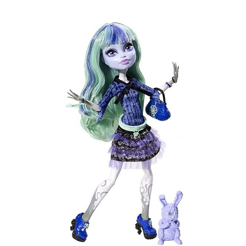 Monster High 13 Souhaits Twyla Boogie Girl