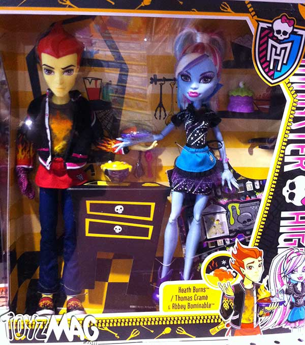 Heath Burns & Abbey Bominable Home Ick (Cours d'éducation ménagère Monster High