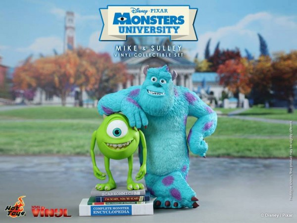 Monster University Mike and Sulley Hot Toys