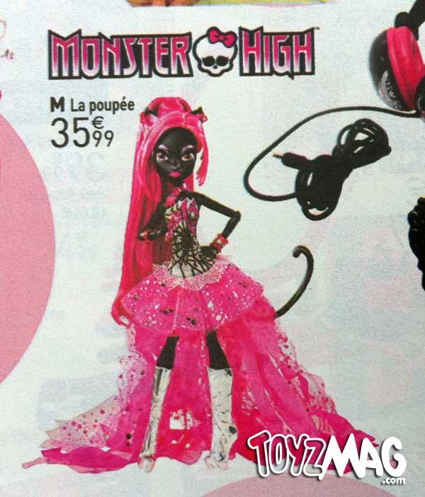 Monster High Vendredi 12 Catty Noir La redoute