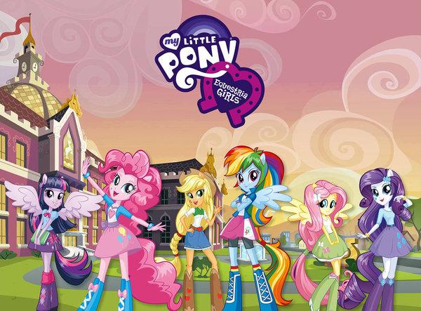 My Littl pony Equestria Girls concept Art