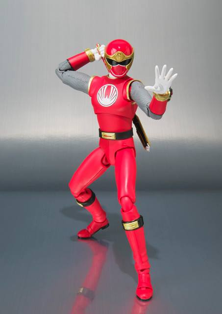 Ninja Storm, Ranger Form Ha tamashii shfiguarts 4