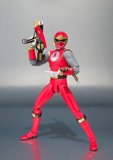 Ninja Storm, Ranger Form Ha tamashii shfiguarts 5