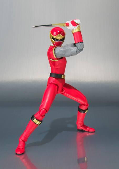 Ninja Storm, Ranger Form Ha tamashii shfiguarts 6