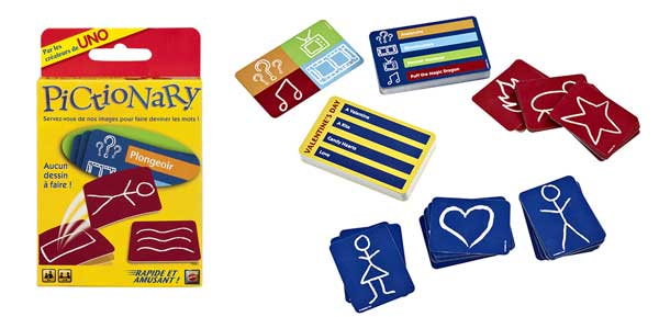 Pictionary Cartes