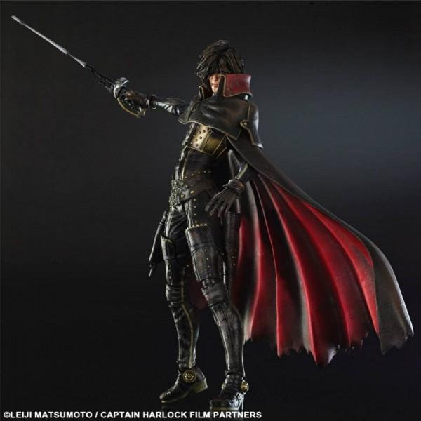 Play Arts Kai Captain Harlock Square Enix