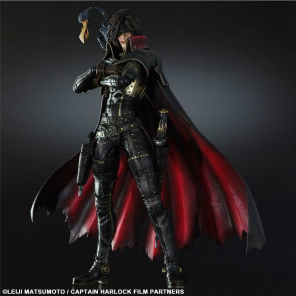 Play Arts Kai Captain Harlock Square Enix