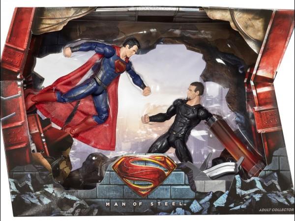 DC Man of Steel Movie Masters Superman vs General Zod Movie Pack