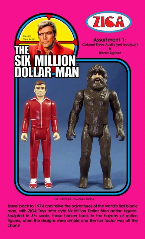 Zica toys L'homme qui valait 3 milliards (Six Millions Dollars Man)