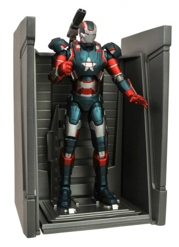 dst marvel select Iron Man iron patriot 2