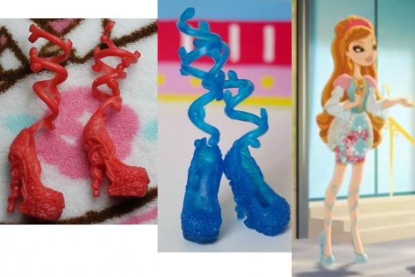 Ashlynn Ella Ever After High les poupées Mattel