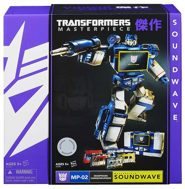 masterpiece Soundwave Hasbro