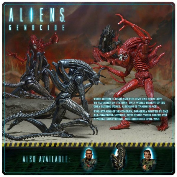 neca aliens genocide packaging