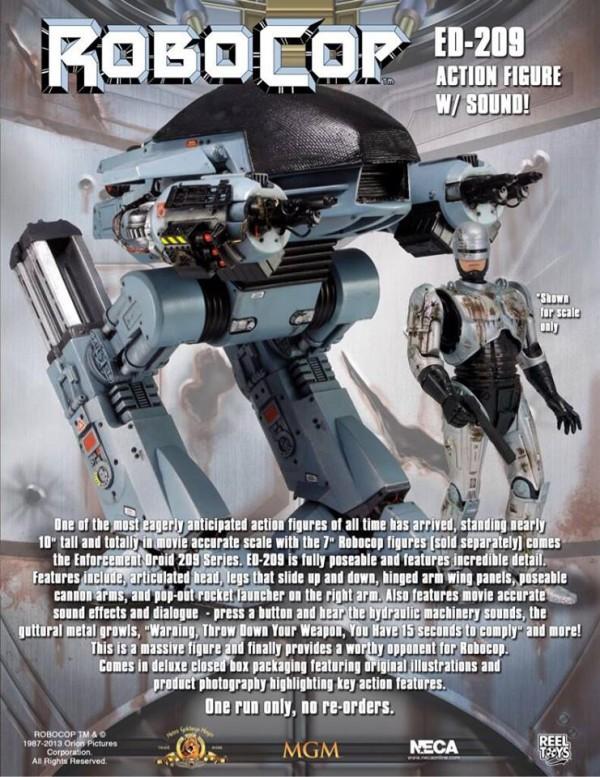 neca ed-209 robocop