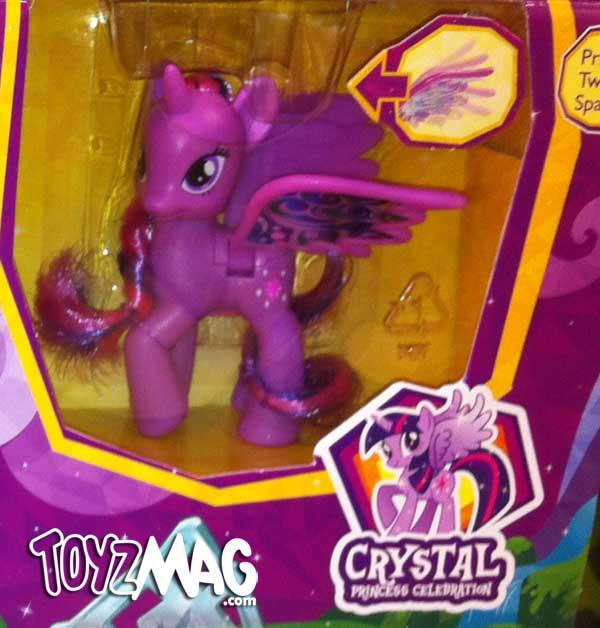 Twilight sparkle My Little Pony Princess Cristal Celebration Hasbro 2013