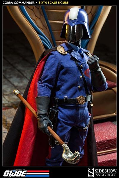 sideshow gijoe cobra commander dictator 2013