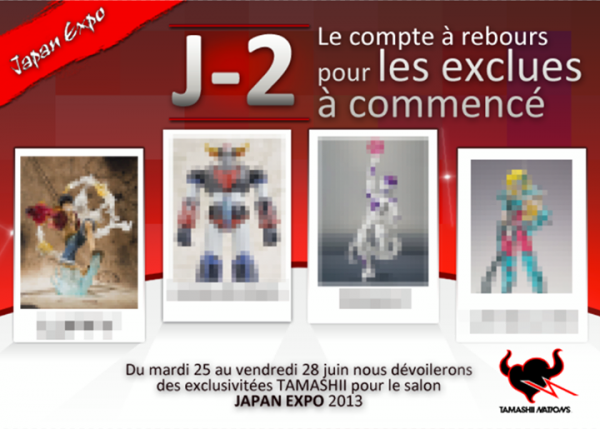 tamashii Nation France exclue Japan expo J-2