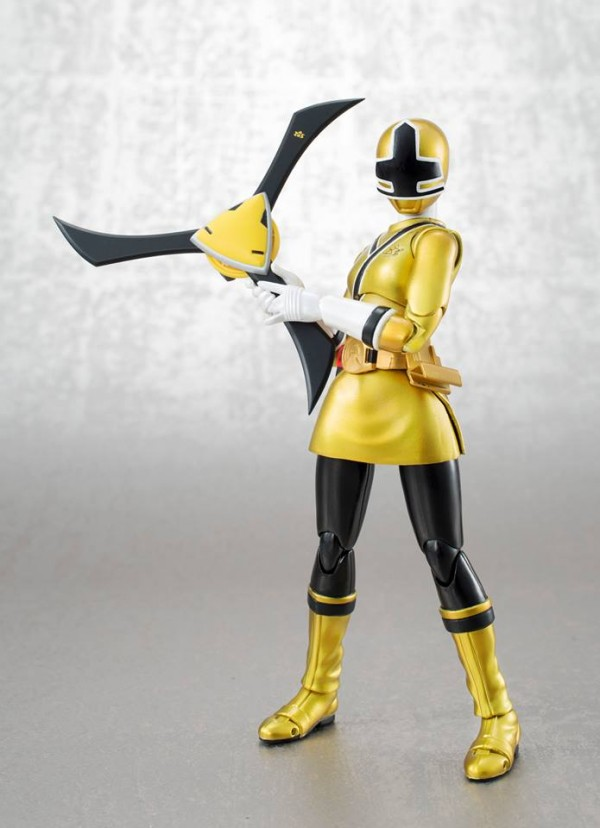 yellow samurai power ranger sdcc exclu apck tamashii nations bluefin usa